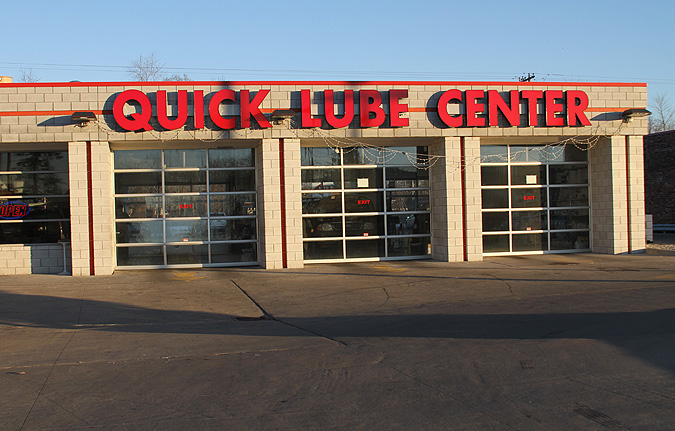 Quick Lube Channel Letters